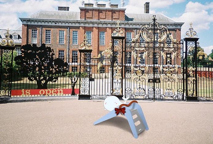 Le domicile du prince George équipé d'un toboggan royal