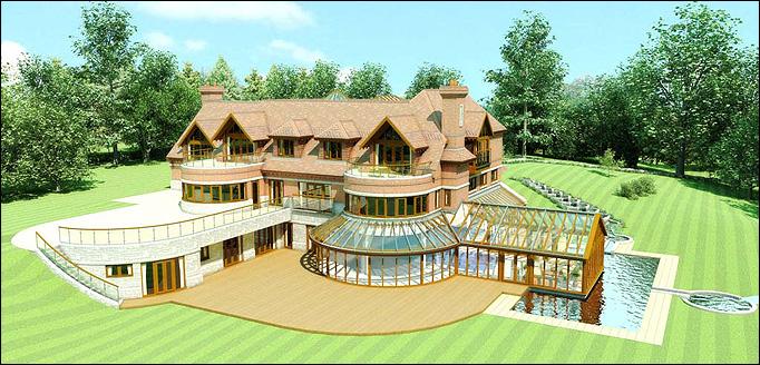 Immobilier luxe le top 10 des plus belles maisons de footballeurs - Les plus beaux van plan de maison du monde ...