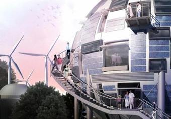 Un silo à pétrole pour maison