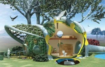 maison du futur le top 10 des maisons de demain. Black Bedroom Furniture Sets. Home Design Ideas