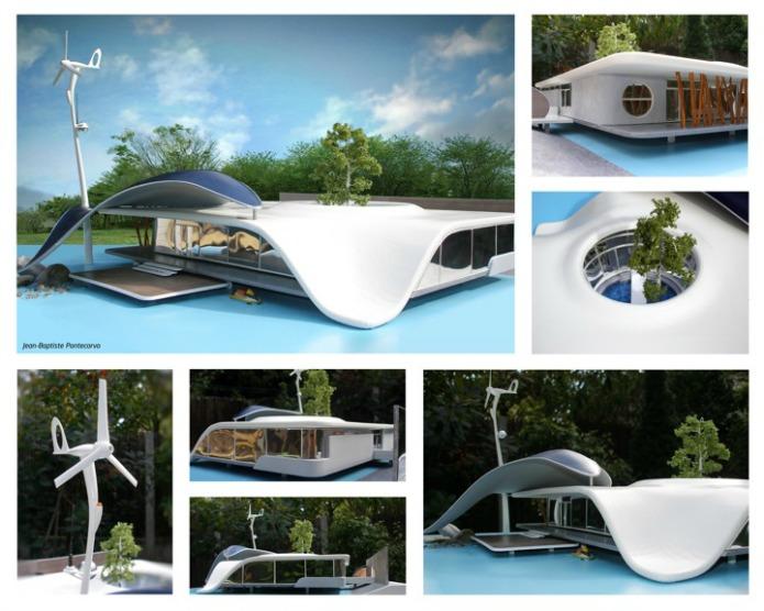 Maison du futur le top 10 des maisons de demain - La maison du futur bruxelles ...