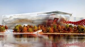 Jean Nouvel concepteur du Museum national d'art de Chine
