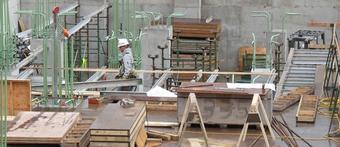 Construction : progression des mises en chantier