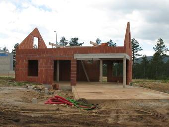 Première éco-construction locale en Lozère