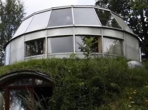 La maison intelligente qui capte le soleil