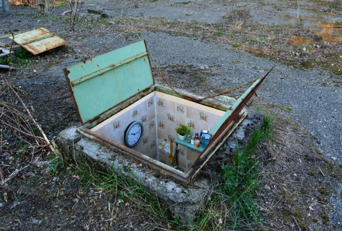Insolite : dans les égouts de Milan, des logements miniatures