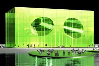 Immobilier Lyon et Architecture :Euronews poursuit la tendance futuriste