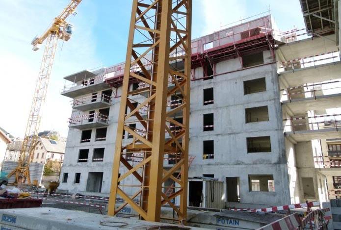 La France construit de moins en moins de logements