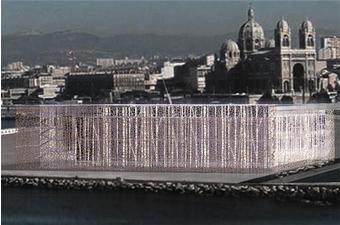 Marseille : le Mucem dessiné par Rudy Ricciotti