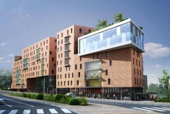 Habitat collectif en bois en Alsace