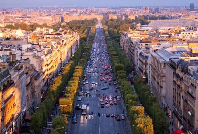Paris : les prix de l'immobilier en baisse