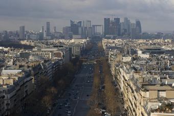 Ile-de-France : les bureaux en baisse de 20 %