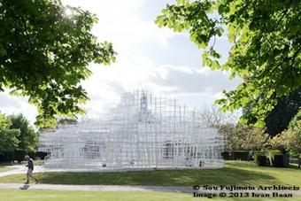 L'architecte Sou Fujimoto à la Serpentine Gallery