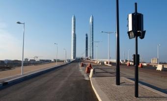 Bordeaux a inauguré son gigantesque pont Chaban-Delmas