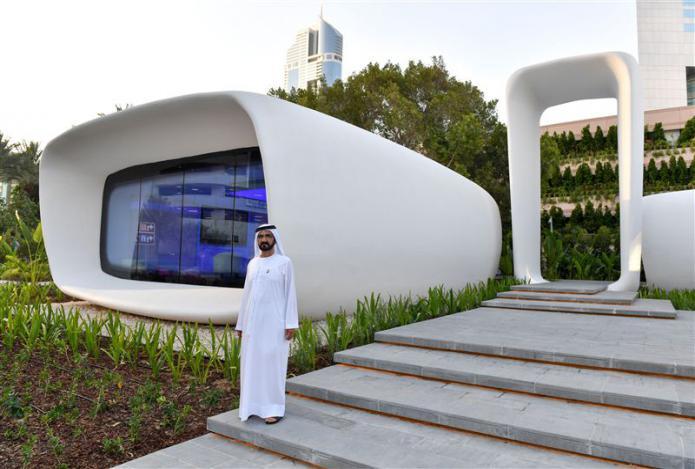À Dubaï, un bâtiment vient d'être construit... avec une imprimante 3D