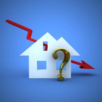 Le marché immobilier au point mort avec très peu de ventes conclues