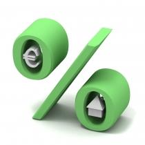 Crédit immobilier : chute de l'indice de référence des taux