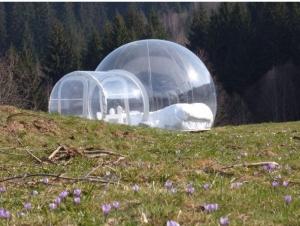 Une nuit dans une bulle transparente, une expérience qui vaut le détour