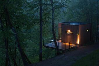 Habitat insolite : une cabane dans les arbres