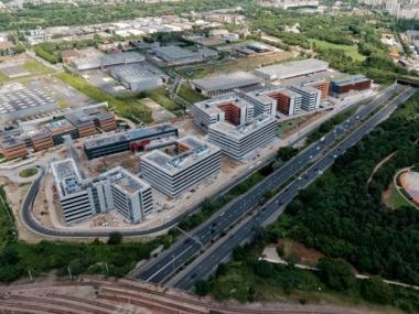 Campus Cristal : le nouveau siège du groupe Thalès à Gennevilliers