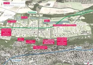 Le projet Paris-Saclay : un gigantesque campus urbain