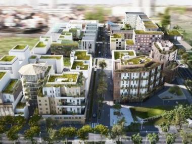 L'éco-quartier Hoche à Nanterre est au centre de deux programmes résidentiels