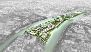 Un éco-quartier d'un nouveau genre verra le jour sur l'Ile Saint-Denis