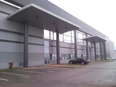 L'offre logistique disponible à Strasbourg, correspond à 188 000 m² avec un recul de -16%