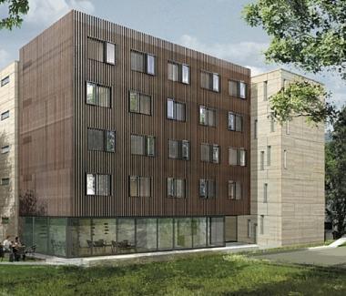 Versailles : construction de 60 logements sociaux à ossature bois