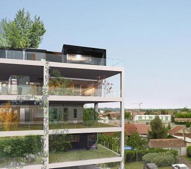 Les ''Hauts plateaux'', 1er programme d'habitat durable, vertical et peu énergivore en France