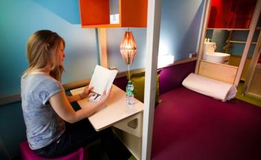 L'hôtel Hi Matic, à Paris et ses chambres/cabanes valent le détour