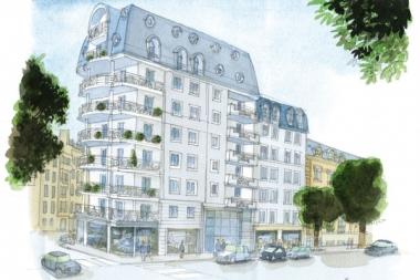 Clermont-Ferrand : un immeuble construit par AIP Promotion bénéficie d'une certification NF Logement