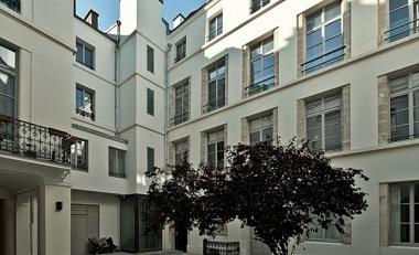 Paris quartier du Marais : rénovation énergétique d'immeubles du 18e siècle