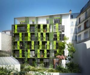 Logements sociaux à énergie positive : une première à Paris