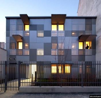 Une prouesse architecturale dans le XVIIIe/impasse Dupuy à Paris, signée par l'agence RMDM
