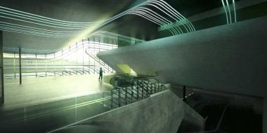 Une inauguration en grande pompe en présence de l'architecte Zaha Hadid