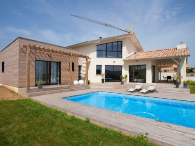 Saône-et-Loire : une maison écologique basse consommation est labellisée BBC-Effinergie