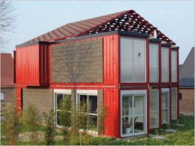 Habitat insolite : une maison réalisée avec des conteneurs