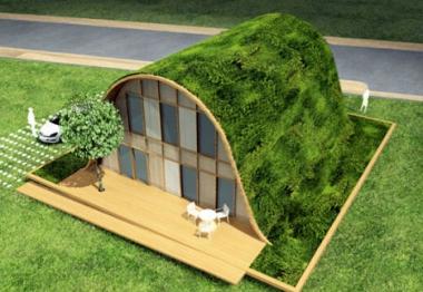 La maison vague, une tendance plus écologique