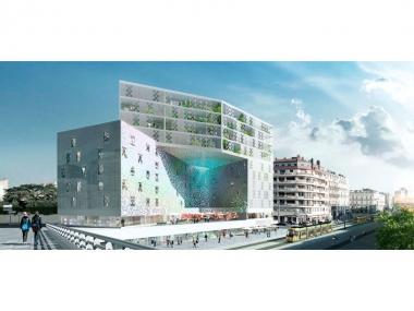 Un bâtiment ultramoderne perforé émergera l'année prochaine à Montpellier