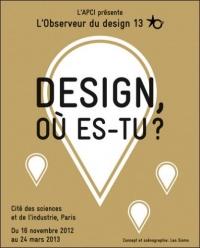 Exposition « Observeur du design 13 »