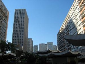 Projet de réaménagement urbain du quartier des Olympiades à Paris