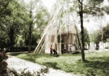 Des crèches démontables avec Djuric Tardio Architectes