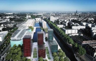Strasbourg : un projet urbain de grande envergure baptisé « Deux Rives »