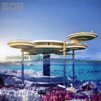 Vacances sur une île artificielle ou dans un hôtel sous marin à Dubaï ?